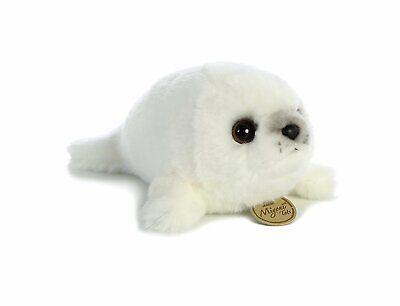 9 Inch Miyoni Harp Seal Plush Stuffed Animal by Aurora