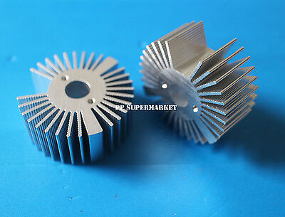 2pcs 4719mm Round Oxidation Sunflower Aluminum Heatsink For 1w3w5w Led Lamp