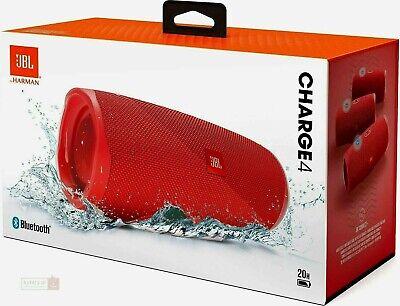 JBL Charge 4 bluetooth wireless Speaker - Red