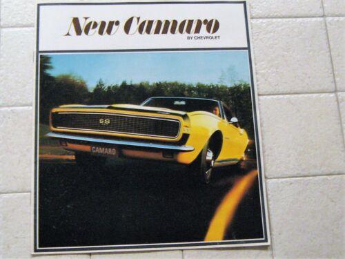 Original  Sales Brochure for 1966 Chevrolet Camaro