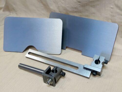 D-D Total System Work/Tool Rest for Jet Wilton Square Wheel Belt Grinders