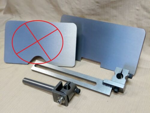 "D-D Work/Tool Rest for Jet Wilton Square Wheel Knife Belt Grinders - 10"" Table"