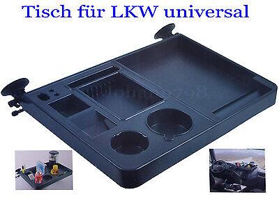 Truckertisch LKW NEU Tisch Ablagetisch Universal groß 2 Saugnapfe