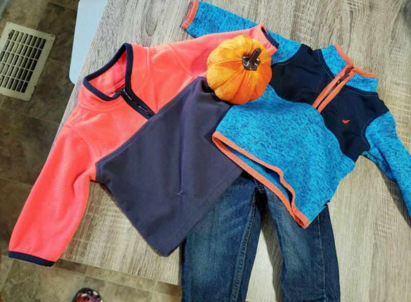 Nautica Osh Kosh Baby Quarter Zip Sweater Lot 3-6 Month