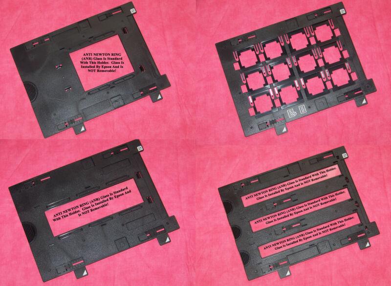Epson Perfection v700 & v750 - Film Holders - All 4 - ANTI NEWTON RING Resin