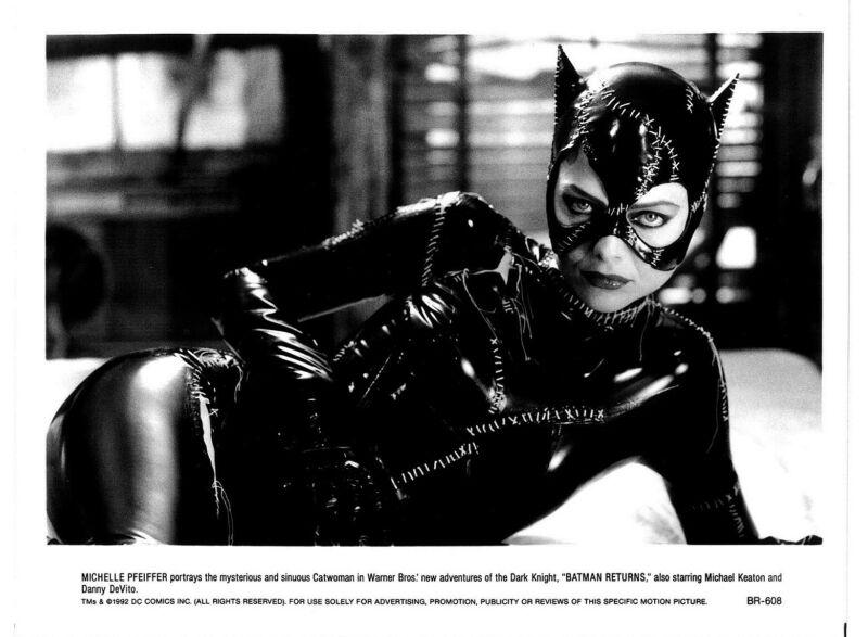 Batman Returns movie photo print b - Catwoman, Michelle Pfeiffer - 8 x 10 inches