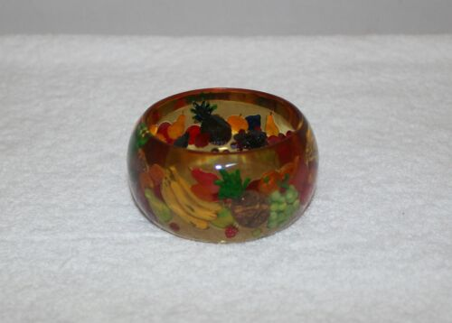 Brad Elfrink Bakelite Bracelet Fruit