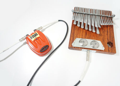 23 Key ELECTRIC Vambe Mbira Thumb Piano Kalimba Handmde Zim SHIPS frm USA