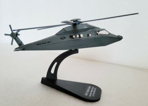 Military Helicopte MH-X SILENT HAWK Diecast US Navy Italeri Scale 1:100 Model