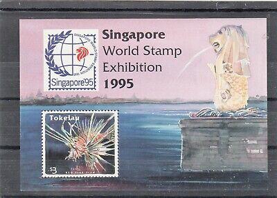 Tokelau Island Stamps. World Stamp Exhibition.Singapore 1995