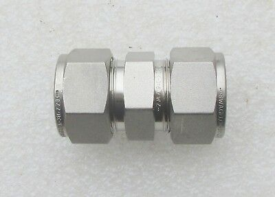 Swagelok Ss 34 Stainless Steel Fitting Union Ss-1210-6 Several Avail  New