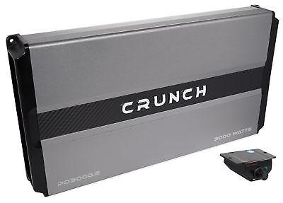 Crunch PD3000.2 3000 Watt 2-Channel Pro Power Car Audio Amplifier Class AB Amp