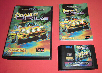 Megadrive 1 & 2 Power Drive [PAL] 1 2 Sega *JRF*