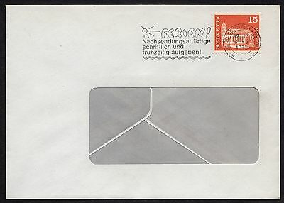 Switzerland: Cover with 15c stamp from 1964 Architectural series