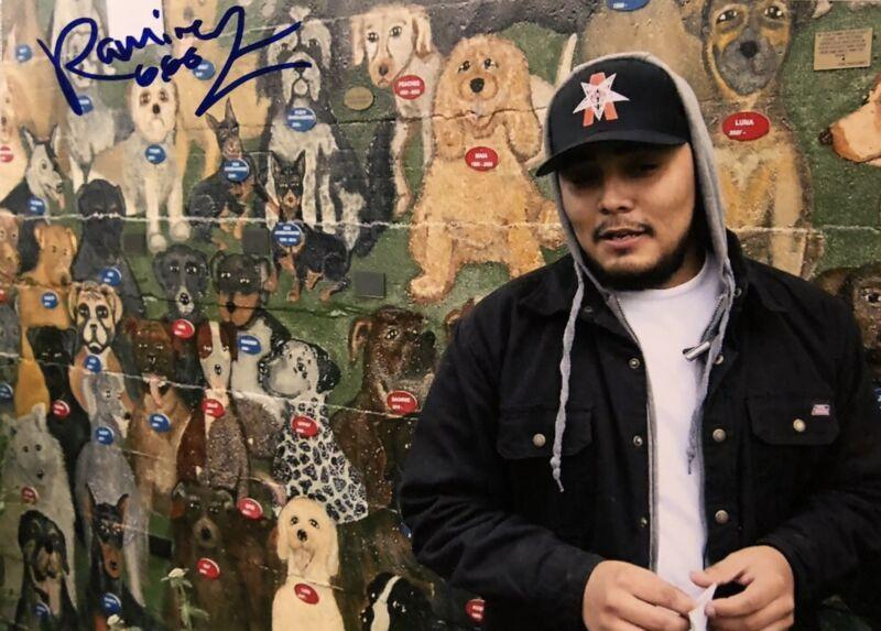 Ramirez G59 Rapper Signed Autographed 5x7 Photo (Suicideboys Pouya G59)