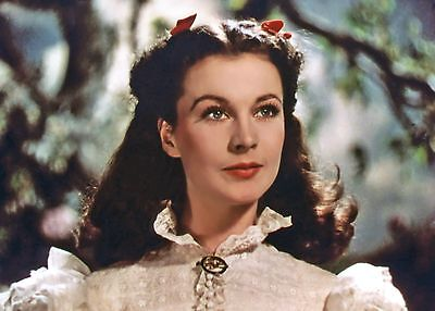 GONE WITH THE WIND - VIVIEN LEIGH ON SET - CANDID OUT TAKE PHOTOGRAPH - RARE!