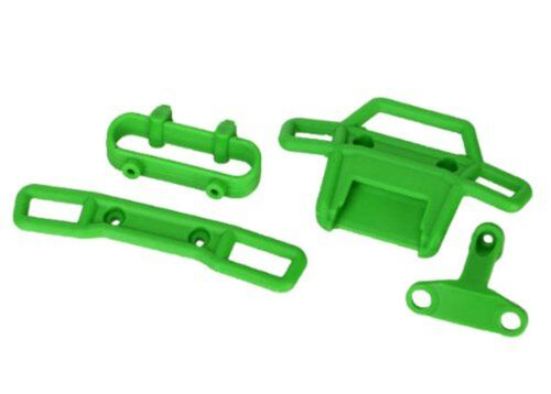 Traxxas 7236A Green Bumpers and Supports 1/16 Scale Vehicles