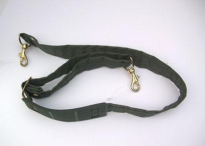 Vintage ATLANTIC Luggage Nylon & Webbing Shoulder Strap Replacement Brass Clips