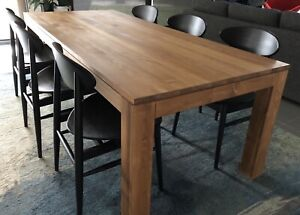 Ethnicraft Teak Dining Table 2200mm Dining Tables Gumtree