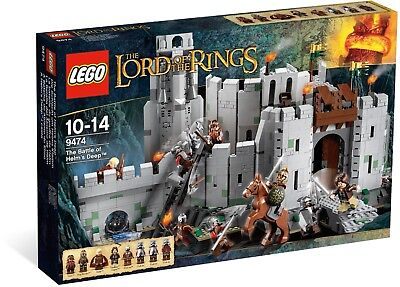 LEGO The Lord of the Rings The Battle of Helm's Deep (9474) =NEW