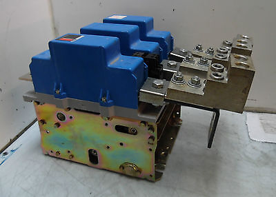 Cutler Hammer Size 6 Contactor 540 Amp, # C10J3, ITEM WILL NEED TO BE REPAIRED.