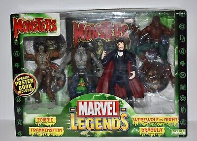 2006 Marvel Legends Monsters Action Figure 4-Pack Boxed Set. Rare.