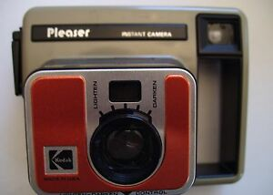 1978 Kodak Pleaser Instant Camera NEW PRICE