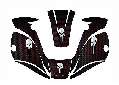 Miller Digital Elite 257213 Titanium Welding Helmet Wrap Decal Sticker Welder 3
