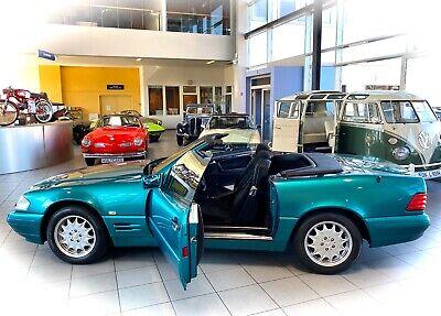 *JAHRESWAGEN-ZUSTAND* Mercedes SL500 R129 Cabrio Youngtimer im OldtimerMuseum