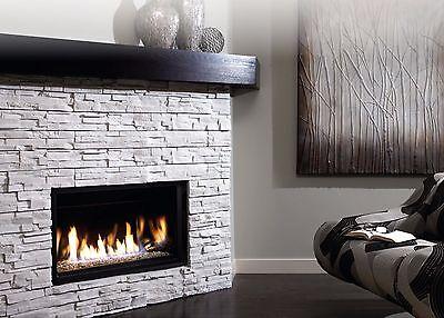 Kingsman ZDVRB3622 Direct Vent Gas Fireplace Linear 36