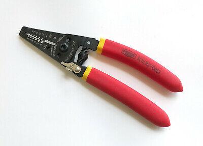 Schurz Tool T10018 10-20 Awg Wire Strippercuttercrimper 7 Multi -tool