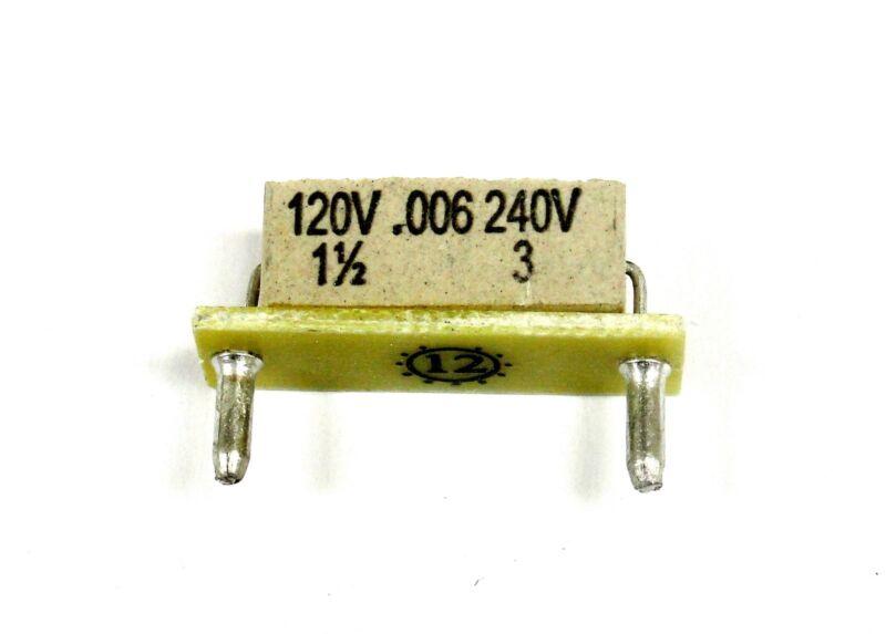 KB Electronics KB-9850 horsepower resistor 1.5hp @ 90-130vdc -- 3hp @ 180vdc