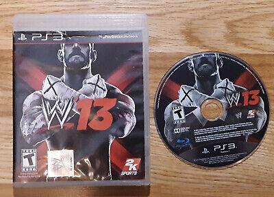 WWE 13 - Wrestling - PlayStation 3 PS3 - Complete - Tested segunda mano  Embacar hacia Argentina