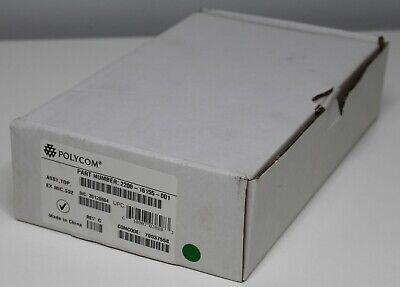 New Open Box Polycom Soundstation 2 External Mic Pods 2200-16155-001