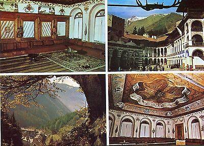 Alte Postkarte - Rila-Kloster