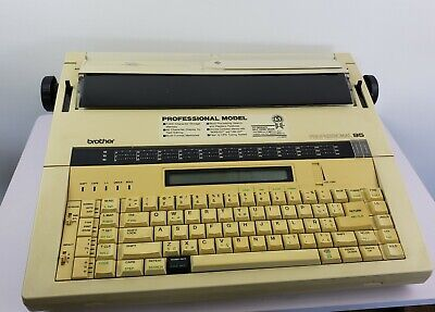 Brother Professional 95 Typewriter Model Cx95 - Tested - Good Working Condition