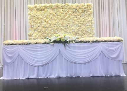 Formals birthdays weddings flower walls party hire gumtree flower wall for hire junglespirit Image collections
