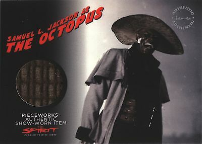 The Spirit Movie PW5 The Octopus Pieceworks Costume Card Thick Variant](The Spirit Costume)