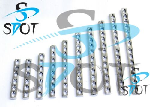 3.5mm DCP Narrow Bone Plates 10PCs Set OrthoVet Stainless Steel SdOt Instrument