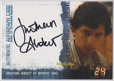 "2006 ARTBOX 24 SEASON 4 AUTO: JONATHAN AHDOUT - AUTOGRAPH ""HOUSE OF SAND & FOG"""