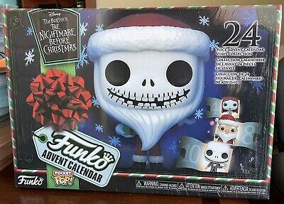 Funko Advent Calendar: The Nightmare Before Christmas - 24 Pocket Pop! Vinyl-NEW