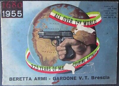 1955 BERETTA 935-934-948 PISTOLA AUTOMATICA istruzioni catalogo armi originale segunda mano  Embacar hacia Mexico