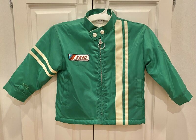 NEW Appaman Little Boys Green Winter Race Jacket Size 2T