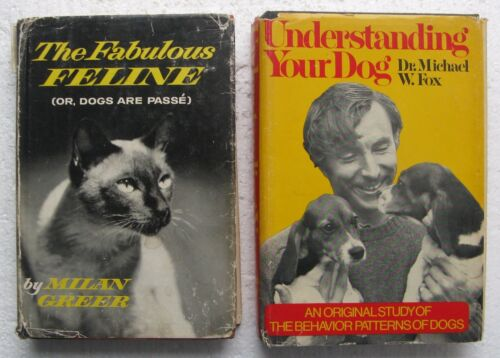 "(2) Dog & Cat Hard Cover Books: ""The Fabulous Feline"" & ""Understanding Your Dog"""