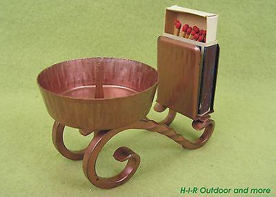 Alter Streichholzschachtelhalter Streichholzhalter & Kerzenständer Art Deco