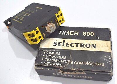Selec 800pod-on-60s Din Rail True Power Off Analog Delay Timer