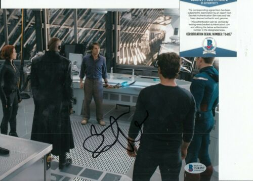 MARK RUFFALO signed (AVENGERS) autographed *THE HULK* 8X10 photo BAS BECKETT #4