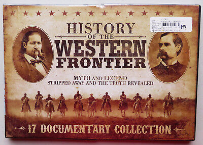 History of the Western Frontier (DVD, 2012, 3-Disc Set) Myth and Legend NEW
