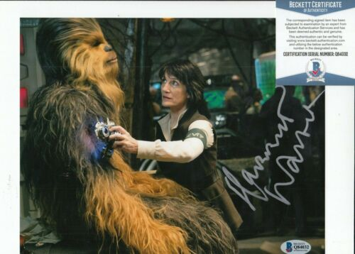 HARRIET WALTER signed (STAR WARS THE FORCE AWAKENS) 8X10 photo BAS BECKETT #5