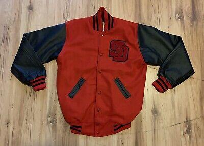 Men/'s Knockout Varsity Baseball Jacket Letterman jacket College jacket Bigman sz